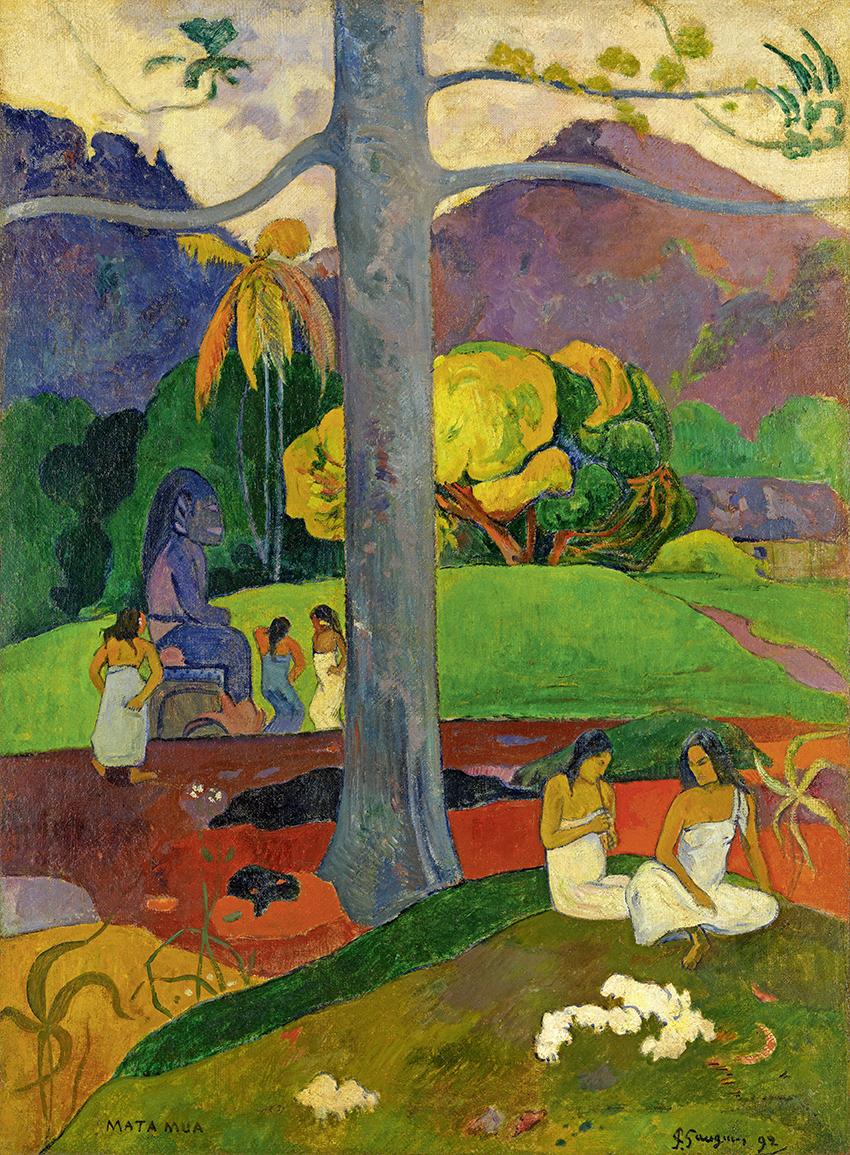 Paul Gauguin, Arearea, 1892; Joyeusetés (I) Vergnügen (I); Öl auf Leinwand, 75 x 94 cm; Musée d'Orsay, Paris, Legat von M. und Mme Lung, 1961; Foto: © RMN-Grand Palais (Musée d'Orsay) / Hervé Lewandowski